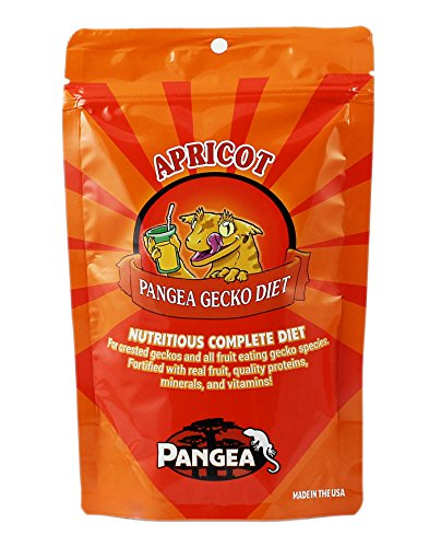 Pangea Fruit Mix Apricot Complete Crested Gecko Food 2 Oz
