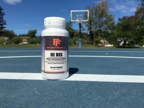 Physique Formula HE REX All Natural Herbal Testosterone Boosting Supplement For Men, Testosterone Boosting Supplement For Men over 40,50 60.Herbal Testosterone Booster