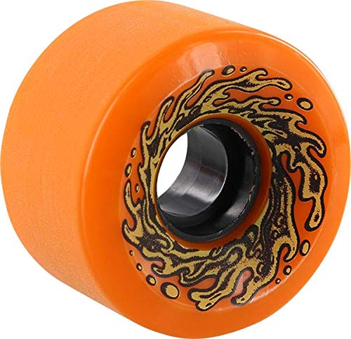 Santa Cruz Skateboards Slimeballs OG Slime Orange/Glow Skateboard Wheels - 60mm 78a (Set of 4)