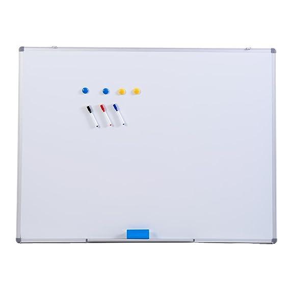 Whiteboard 120 x 90cm Weißwandtafel Magnettafel Memoboard Schreibtafel Wandtafel