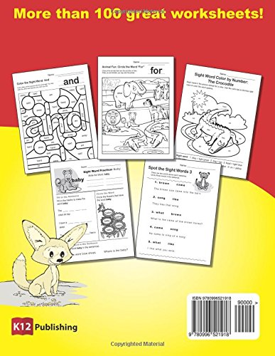Counting Number worksheets kindergarten cut and paste worksheets free : Amazon.com: Dolch Sight Words Practice - Book 1: Fun and ...