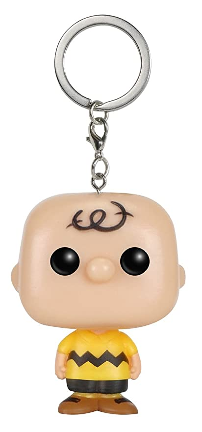 Funko POP Keychain: Peanuts - Charlie Brown Figure