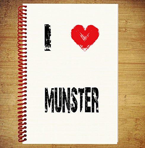 AKGifts I Love Munster - Notebook (Grandpa Munsters)