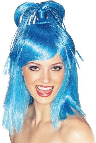 Rubie's Costume The Genie Wig, Blue, One (Adult Genie Costumes)