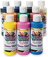 Color Splash! Glass Stain Assortment, 8 oz. (Pack of 10)