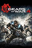gears of war poster - Gears Of War 4 - Gaming Poster / Print (Game Cover / Key-Art) (Size: 24