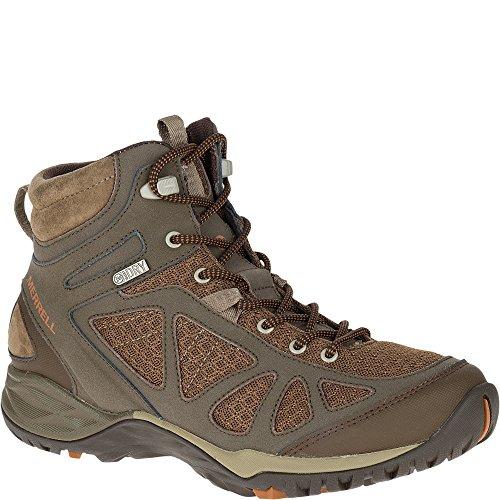 Merrell Women's Siren Sport Q2 Mid Waterproof, Slate Black, 7.5 W (Best Hiking Boots Review)