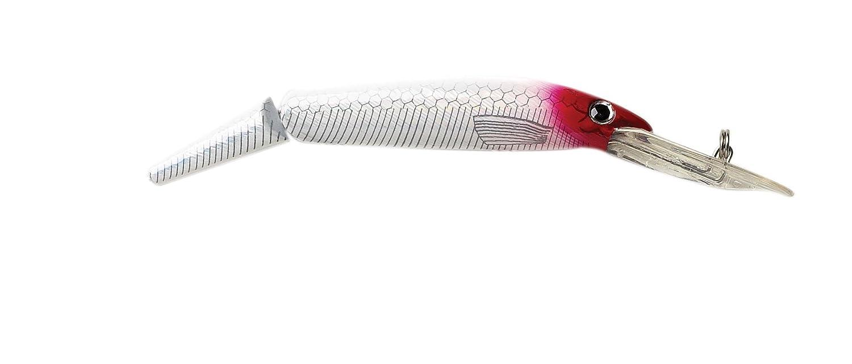 p-line Predator Head Lure B0042FHHV4 White Laser/Red Head Head White p-line Laser/Red Head, プリンショップマーロウ:232e8096 --- hasznalttraktor.e-tarhely.info