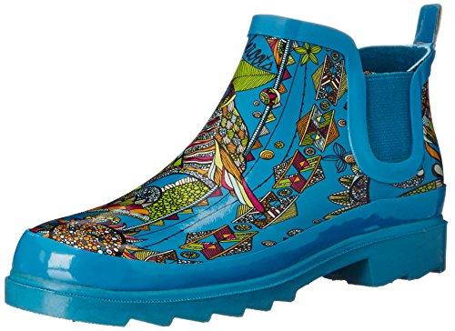 De Sak Dames Rijm Regen Boot Groenblauw Geest Woestijn
