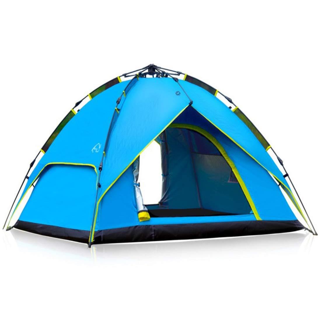MINGANGSAYONE 3-4 Personen Zelt Outdoor Automatische Set Camping Camping Zelt Doppelregensichere Zelt