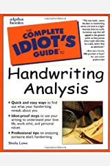 The Complete Idiot's Guide to Handwriting Analysis Paperback