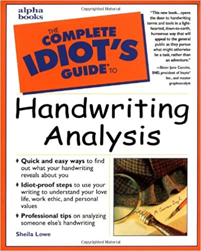 handwriting analysis google books