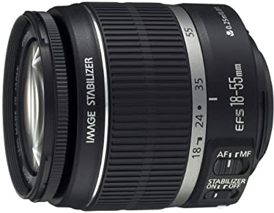 Canon EF-S 18-55mm f/3.5-5.6 IS Zoom Lens for Canon SLR Cameras from Canon Cameras