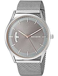Men's 'Holst' Quartz Stainless Steel Casual Watch, Color Silver-Toned (Model: SKW6396)