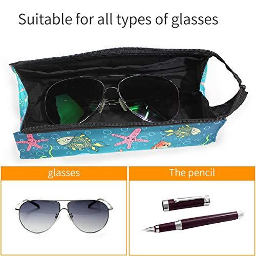Estuche portátil para gafas con diseño de caballito de mar ...