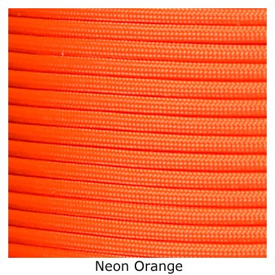 Tactical 550 Paracord - Neon Orange, 1000 FT by 5.11