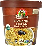Dr. McDougall's Organic Big Cup Hot Cereal Gluten Free Maple 2.5 oz [ Pack of 2]