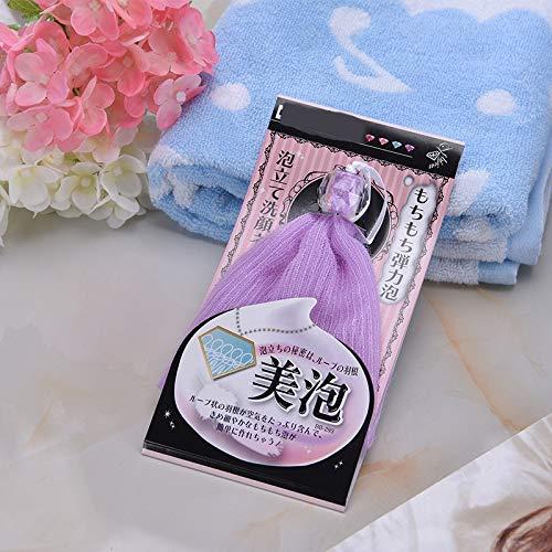 Ari/_Mao Bolso de jab/ón Bolsa de jab/ón de espuma Foam Net Bolsa de espuma Bolsa de malla de malla Burbuja Bubble Maker Herramientas de limpieza facial