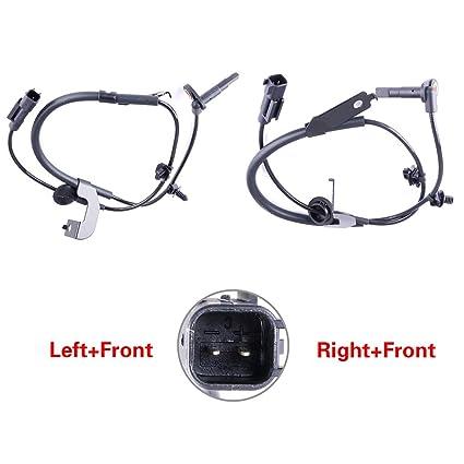 Amazon com: ROADFAR 2 x Front Left Right ABS Wheel Speed