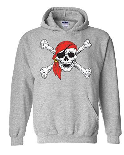 Mom's Favorite Christmas Hoodie Jolly Roger Skull Crossbones Halloween Ugly Sweater Xmas Party Unisex Hoodies Sweater