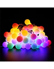 BlueFire Ball Fairy Lights, 8 Lighting Modes with Remote Control Timer for Wedding/Lawns/Christmas/Indoor & Outdoor Decoration