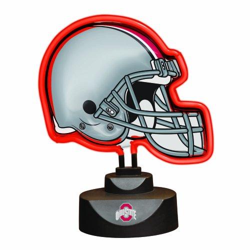 NCAA Ohio State Neon Helmet - Desk State Lamp Ohio