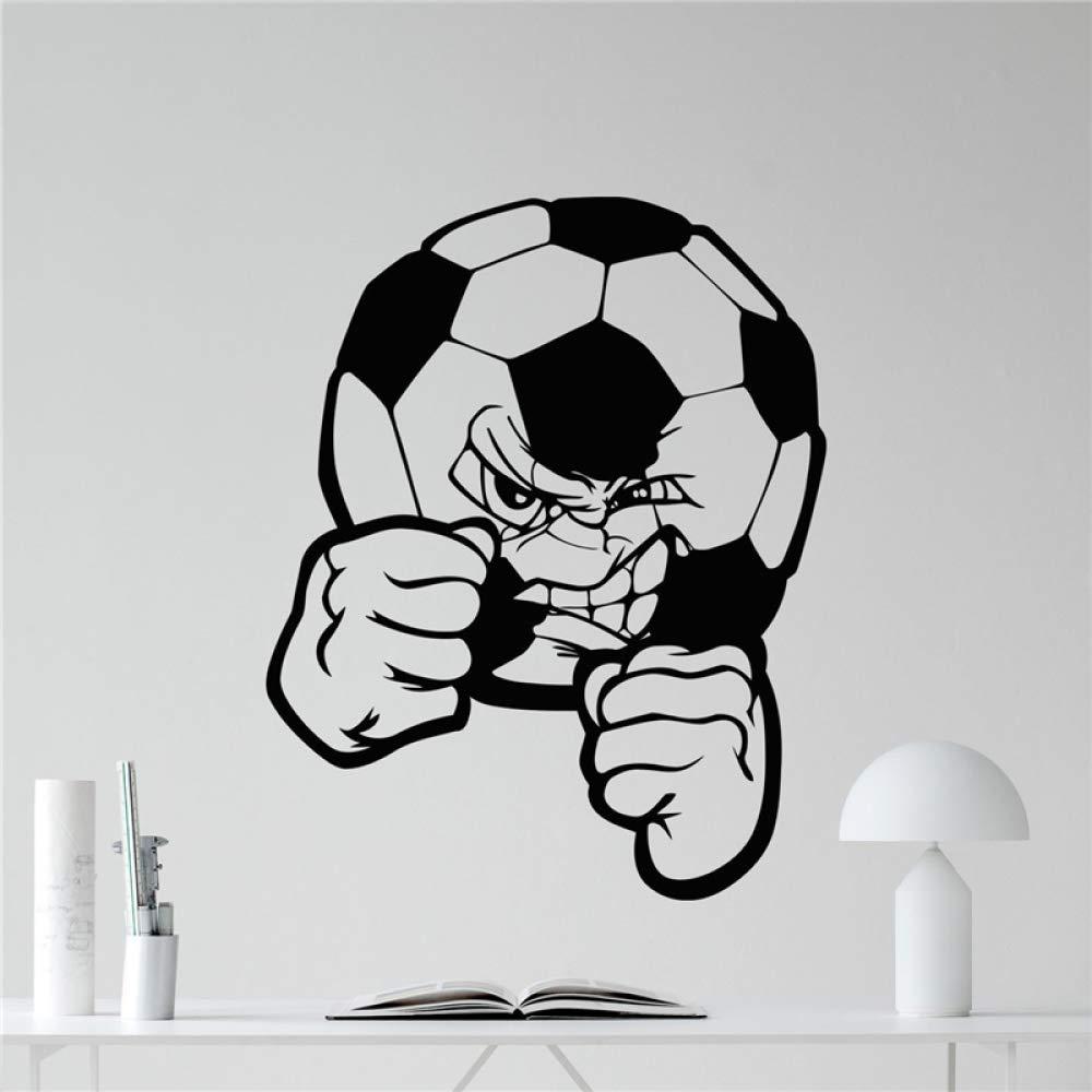 Balón de fútbol Calcomanía de pared Balón de fútbol Etiqueta de ...