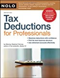 Tax Deductions for Professionals, Stephen Fishman, 1413307825