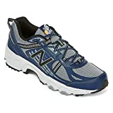Cheap New Balance Men's T410v4 Grey/Navy Athletic Shoe/Size 9 4E