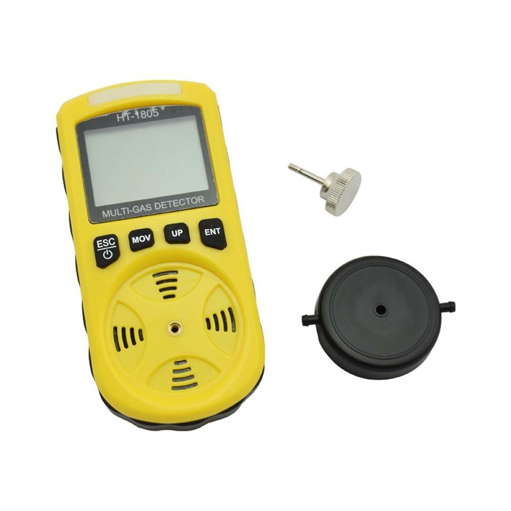 Detector de Gas gancunsh 4 en 1 Tester LCD Digital hogar portátil con Alta sensibilidad para O2/CO/H2S/LEL Detector de Fugas de Gas: Amazon.es: Bricolaje y ...