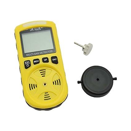 Detector de Gas gancunsh 4 en 1 Tester LCD Digital hogar portátil con Alta sensibilidad para