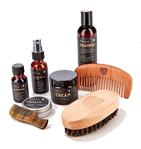 Advanced Beard Club Sandalwood Mustache