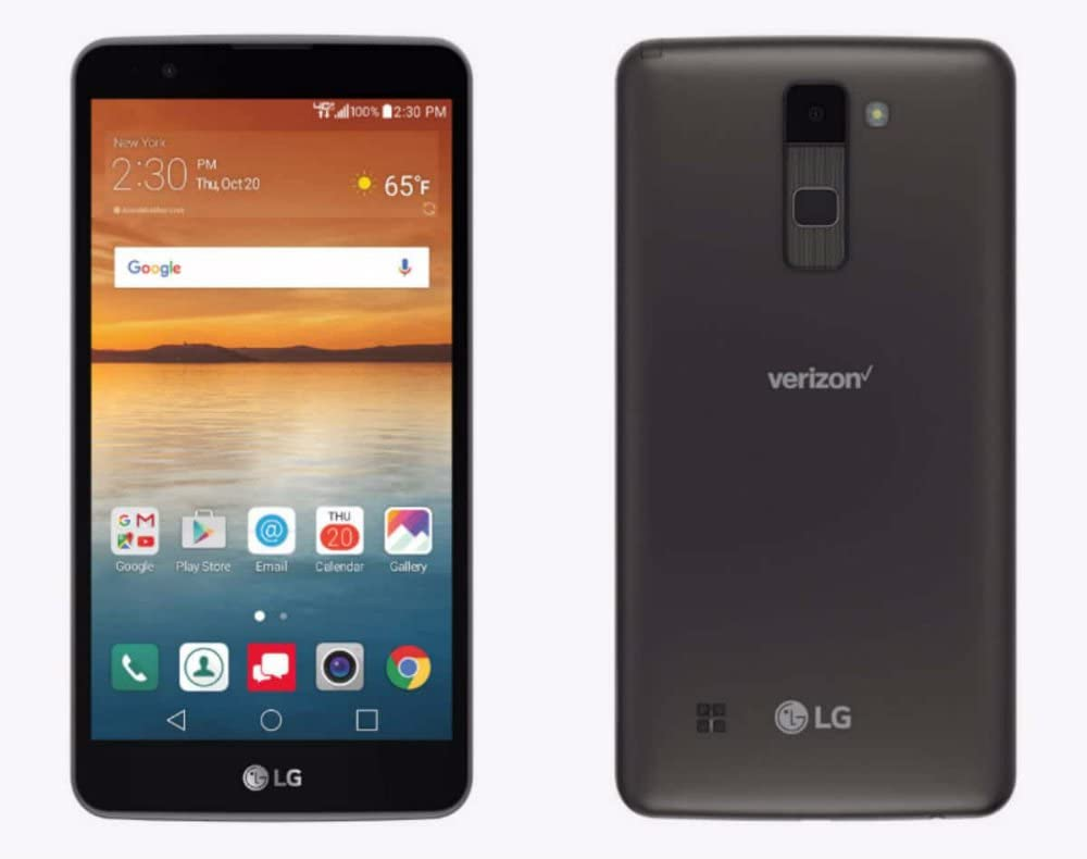 LG Stylo 2 V VS835 Verizon 16GBAndroid Smartphone with 5.7in HD IPS Display and 13MP Camera - Gray (Renewed)