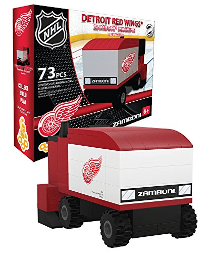 OYO Sports NHL Buildable Zamboni Detroit Red Wings