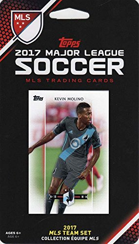 fan products of Minnesota United 2017 Topps MLS Soccer Factory Sealed 7 Card Team Set with Kevin Molino plus