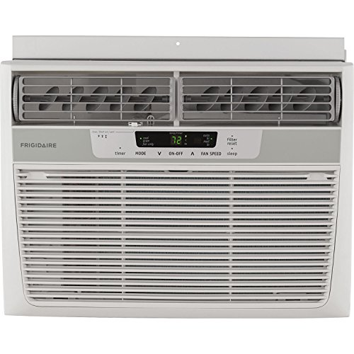 (Frigidaire FFRA1022R1 10000 BTU 115-volt Window-Mounted Compact Air Conditioner with Remote Control)