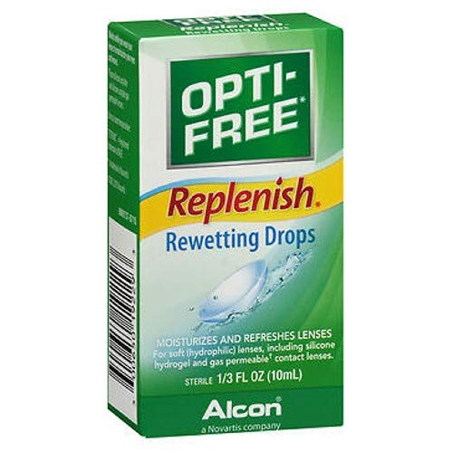 OPTI-FREE Replenish Rewetting Drops 10 mL ( Packs of ()