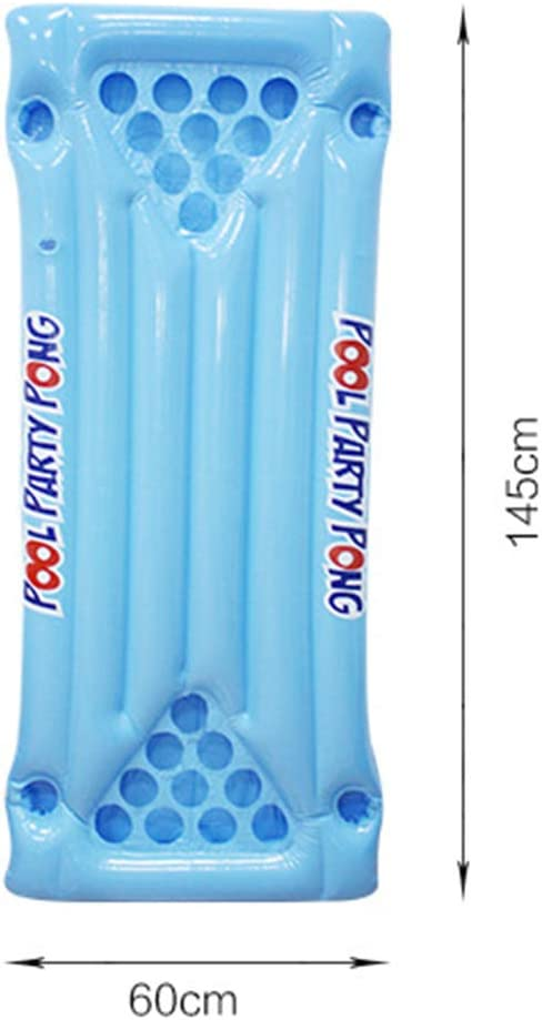 Juego de Cerveza Inflable Pong Pool Party Float Pool Lounge Beer ...