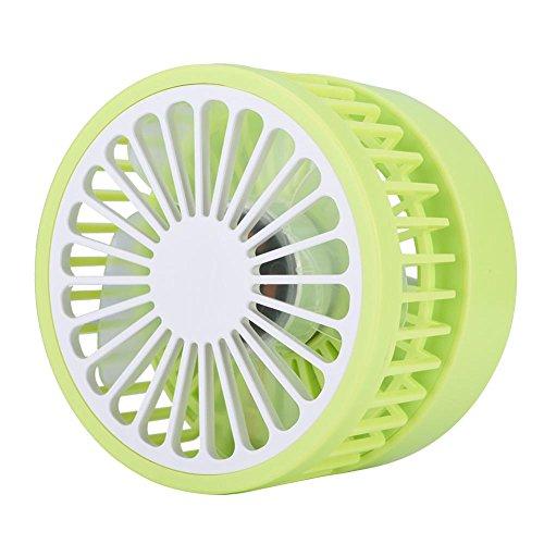 fosa Mini USB Desk Cooling Fan, Lemon Style Air Circulator Fan 3-level Adjustment Powerful Wind USB Desktop Fan for Home Office School(Green) by fosa (Image #1)