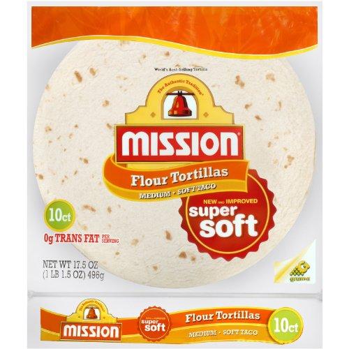 Mission Flour Tortilla Soft Taco 10ct, 17.5oz
