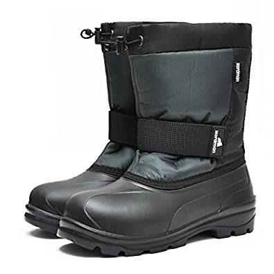 Amazon.com | Men's Warm Fur Snow Boots for Winter Extreme