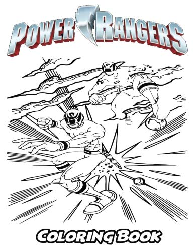 (Power Rangers Coloring Book: Coloring Book for Kids and Adults, Activity Book with Fun, Easy, and Relaxing Coloring Pages (Perfect for Children Ages 3-5, 6-8,)