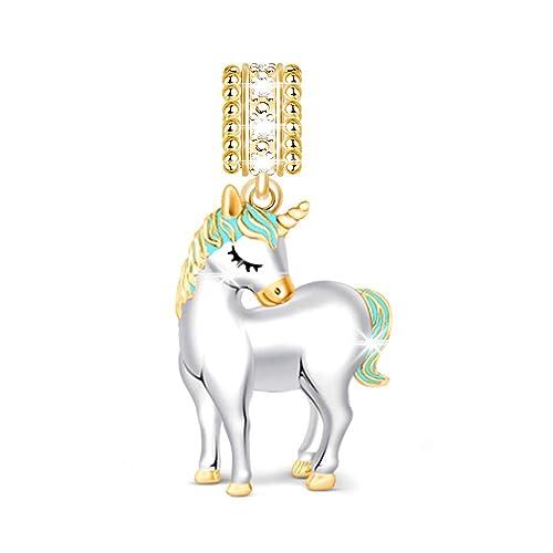 ciondolo pandora unicorno