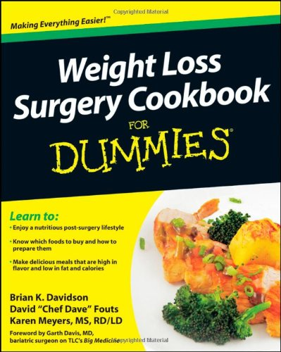 Weight Loss Surgery Cookbook For Dummies