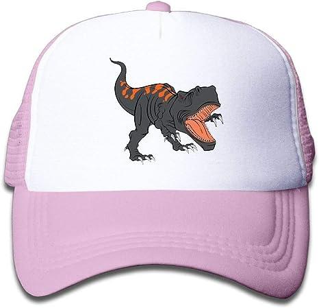 The Fierce Dinosaur Childrens Sun Protection Summer Baseball Adjustable Mesh Hat Cap