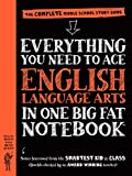 img - for Everything You Need to Ace English Language Arts in One Big Fat Notebook: The Complete Middle School Study Guide (Big Fat Notebooks) book / textbook / text book