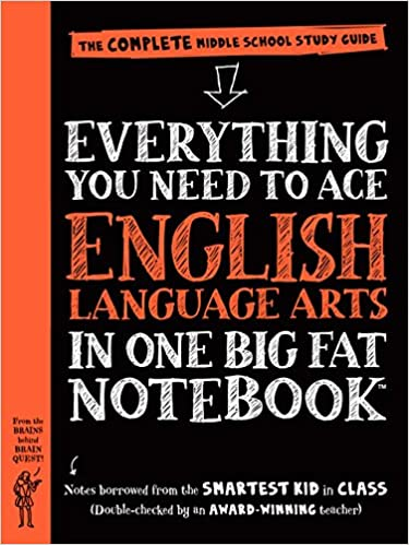 Everything you need to ace english language arts in one big fat everything you need to ace english language arts in one big fat notebook the complete middle school study guide big fat notebooks workman publishing fandeluxe Gallery