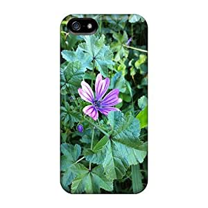 Flower Flip Case With Fashion Design Case For HTC One M8 Cover
