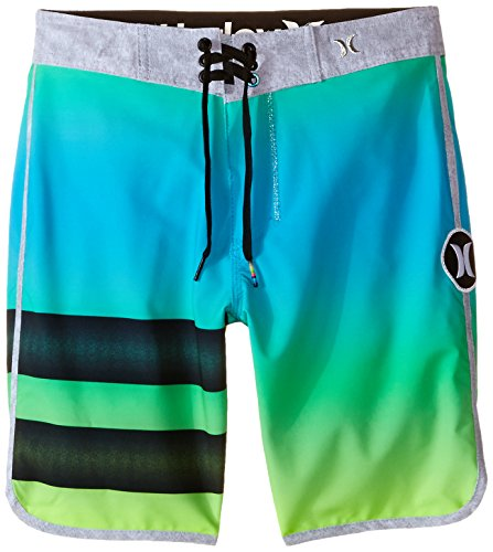 Hurley Big Boys' Destroy2 Boardshort-Flash Lime, Flash Lime, 20