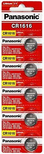 Panasonic Cr1616 3v Coin Lithium Battery 5 Stück Pro Kamera